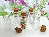 Стеклянные мини баночки для кукол (цена за 1 шт), фото 2