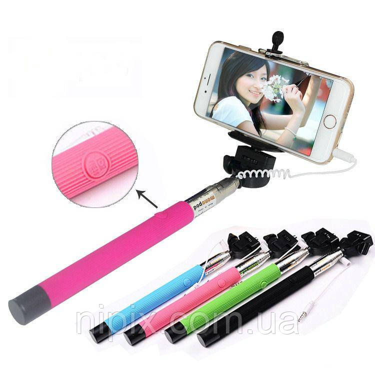 Монопод палка для селфи для смартфонов и iPhone Monopod Z07-5S