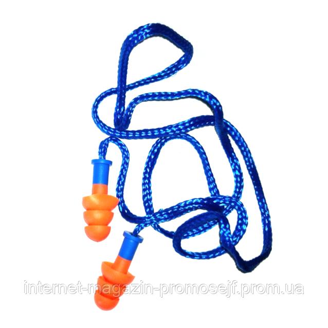 Беруши с нейлоновым шнурком DP06