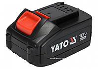 Аккумулятор YATO Li-Ion 18 В 3 Ач
