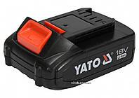 Аккумулятор YATO Li-Ion 18 В 2 Ач