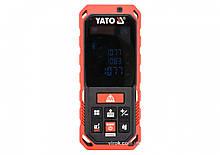 Дальномер лазерный YATO 0.2-60 м 10 режимов YT-73127