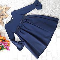 Синее платье для школы от Nina Matilda Турция