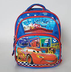Школьный рюкзак «Тачки Маквин» синего цвета