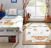 Ковер в детскую комнату Confetti - Baby Sheep белый 100х160