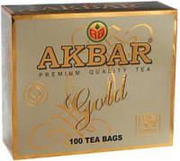 Чай Черный Akbar Gold (100 х 2 г.) пакетированный