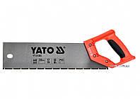 Ножовка по ПВХ и пластику YATO 440/350 мм 17TPI YT-31303