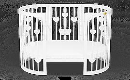 Дитяче кругле ліжечко-трансформер BaggyBed Heart