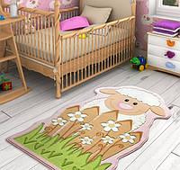 Ковер в детскую комнату Confetti - Little Sheep розовый 80х150