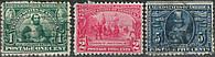 USA - Jamestown. US National Issue 1907 П/З
