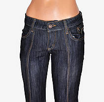 Джинсы подросток сзади карманы (WKD91-1) | 6 пар, фото 3