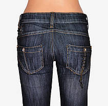 Джинсы подросток сзади карманы (WKD91-1) | 6 пар, фото 2