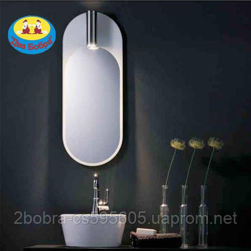 Овальное Зеркало с Галогеновой Подсветкой Promiro Purista