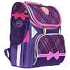 """Рюкзак шкільний каркасний (ранець) для дівчинки Class """"College"""" синій Чехія 9923"""