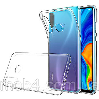 Прозорий силіконовий чохол для Huawei (Хуавей) P30 Lite