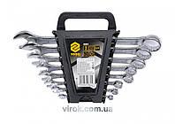 Набор ключей рожково-накидных VOREL М6-22 мм 8 шт