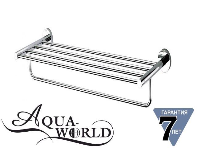 Полка для полотенец 60см латунь Aqua-World КСА007.09.1
