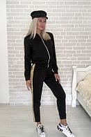 Костюм стильный женский чёрный, жёлтый, бежевый, хаки, фото 1