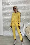Костюм стильный женский чёрный, жёлтый, бежевый, хаки, фото 7