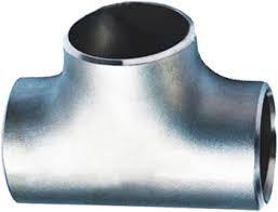 Тройник оцинкованный равнопроходный стальной 57x4мм ГОСТ 17376-2001