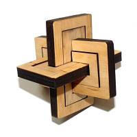 Головоломка деревянная Два в одном