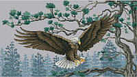 Набор для вышивки крестом Королевский орёл. Размер: 40,5*23 см
