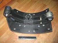 Колодка тормозная МАЗ 5440, КАМАЗ задняя левая (пр-во ТАиМ) (арт. 5440-3502091)