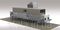 Belt drier for gasification process in Vancouver, Canada