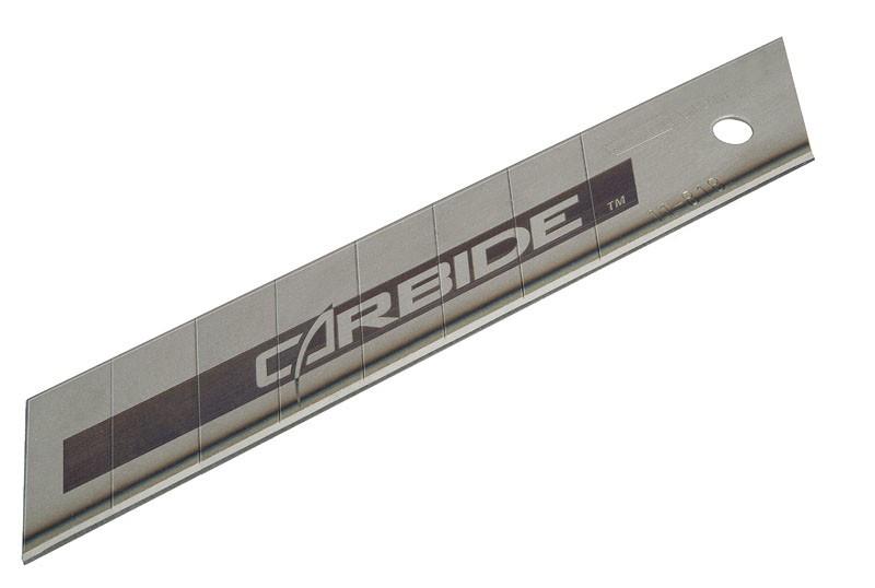 """Лезвие с карбид-вольфрамовым напилением STANLEY """"Carbide"""" 18 мм 5 шт"""