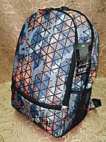 Принт рюкзак GREAT-TOWN качество спортивный спорт городской стильный ОПТ Школьный рюкзак, фото 1