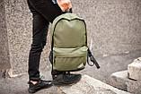 Рюкзак в стиле Adidas (khaki), городской рюкзак Адидас хаки, хаки рюкзак Адидас (Реплика ААА), фото 4