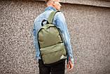 Рюкзак в стиле Adidas (khaki), городской рюкзак Адидас хаки, хаки рюкзак Адидас (Реплика ААА), фото 2