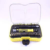 Набор отверток с насадками и головками Iron Spider 6093A, 42 насадки, пинцет и гибкий удлинитель