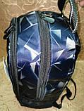 Принт рюкзак GREAT-TOWN качество спортивный спорт городской стильный ОПТ Школьный рюкзак, фото 3