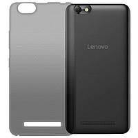 GlobalCase (TPU) Extra Slim Lenovo Vibe C (темный) (1283126471414)