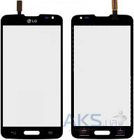 Сенсор (тачскрин) для LG L90 D405, L90 D415 Black