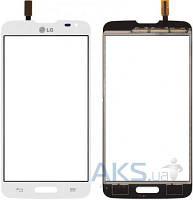 Сенсор (тачскрин) для LG L90 D405, L90 D415 Original White