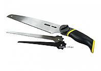Ножовка универсальная 3 в 1 STANLEY со сменными полотнами