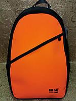 Высококачественный рюкзак GREAT-TOWN кожа С оксфорд ткань модный стиль для мужчин и женщин городской спорт опт, фото 1