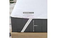 Наматрасник AQUA STOP на резинке по углам. Размер 120х200