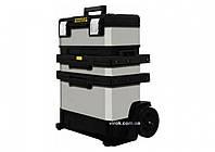"""Ящик для інструменту метало-пластиковий STANLEY """"FatMax"""" на 2 колесах, 893 х 568 х 389 мм"""