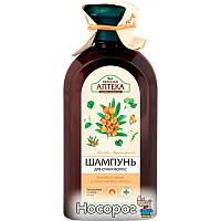 Шампунь Зеленая Аптека для сухих волос Липовый цвет и облепиховое масло 350 мл (4823015934339)