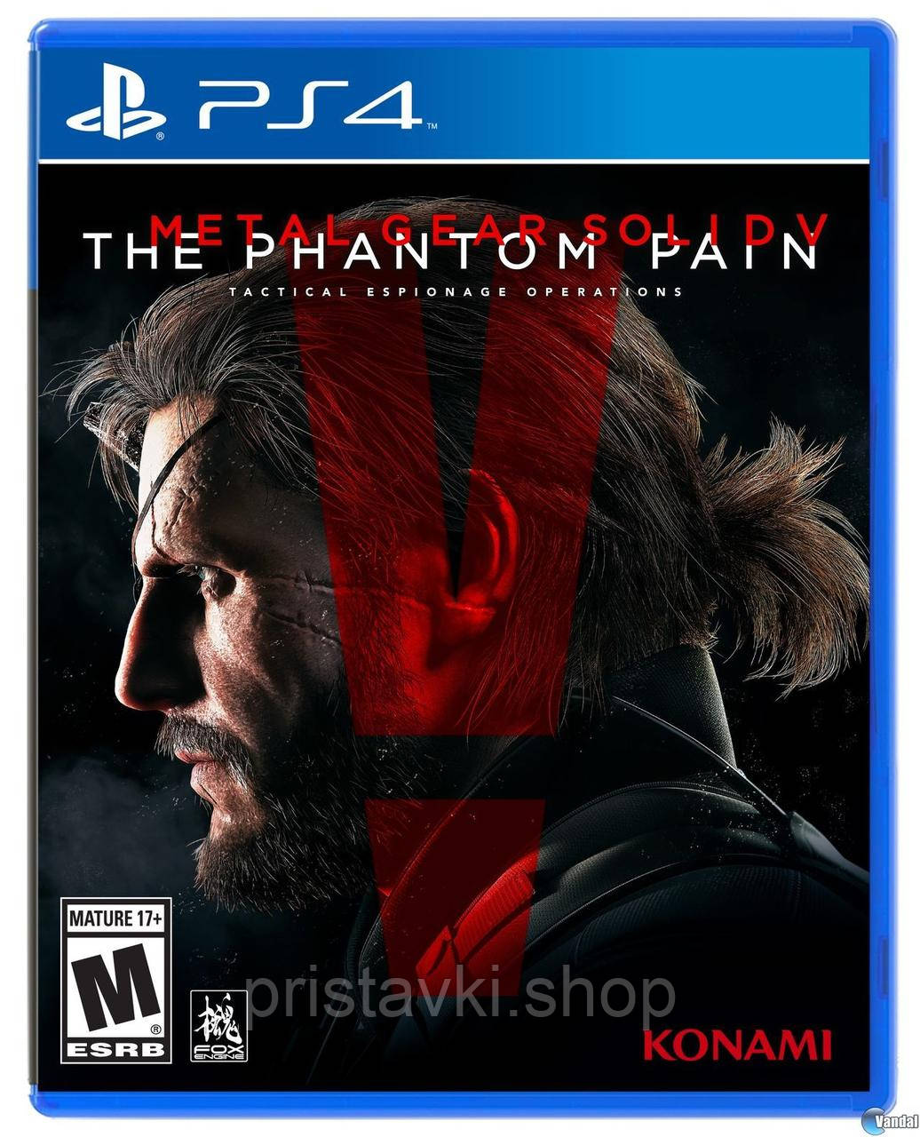 Metal Gear Solid 5 The Phantom Pain PS4 \ PS5