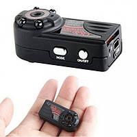 Мини камера регистратор dv dvr QQ6, качество HD 1080p с ночной подсветкой и датчиком движения | AG430009