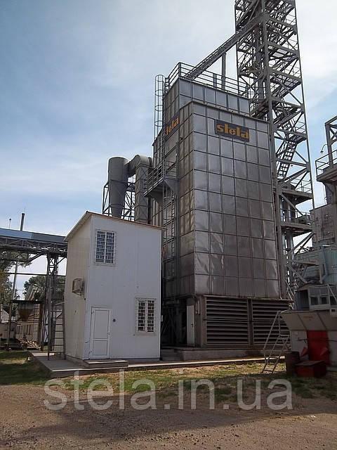 Стационарная шахтная сушилка STELA, модель MDB-XN 2/13