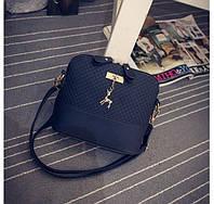 Маленькая женская сумка Deer JingPin черная, фото 1