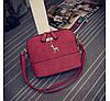 Маленькая женская сумка JingPin Deer красная
