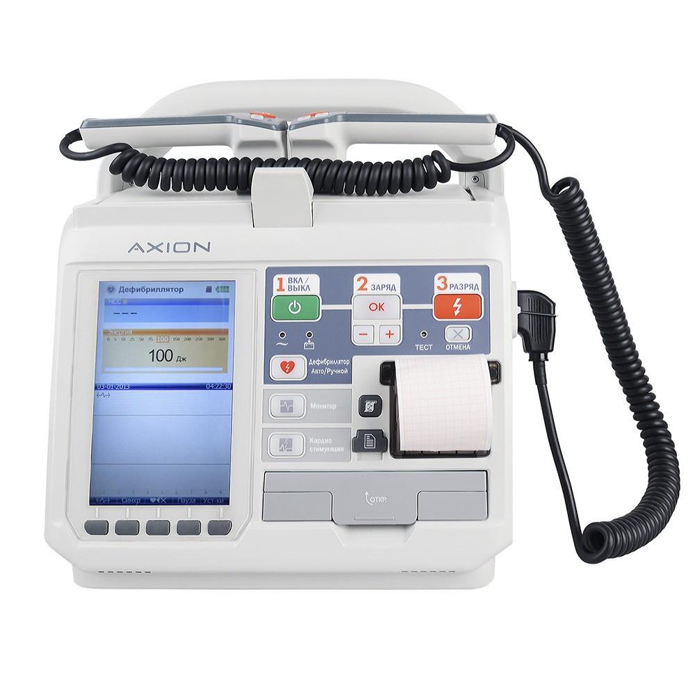 Дефибриллятор-монитор ДКИ-Н-11 «Аксион» с функцией АНД
