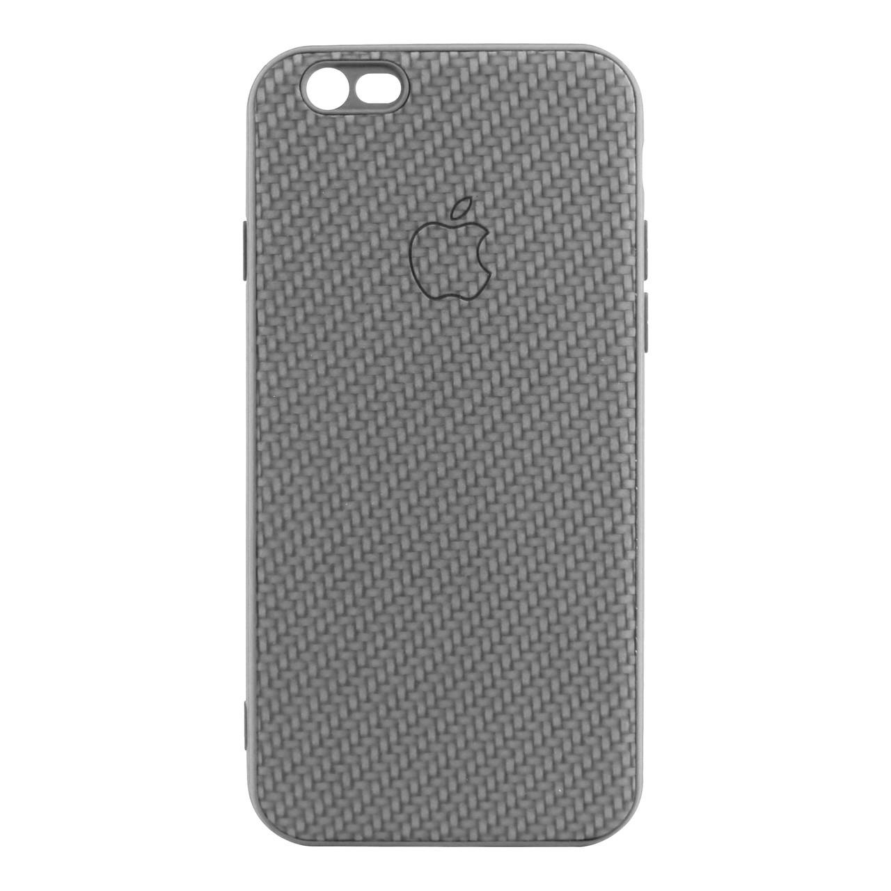 Чехол накладка Carbon для iPhone 6/6S Grey