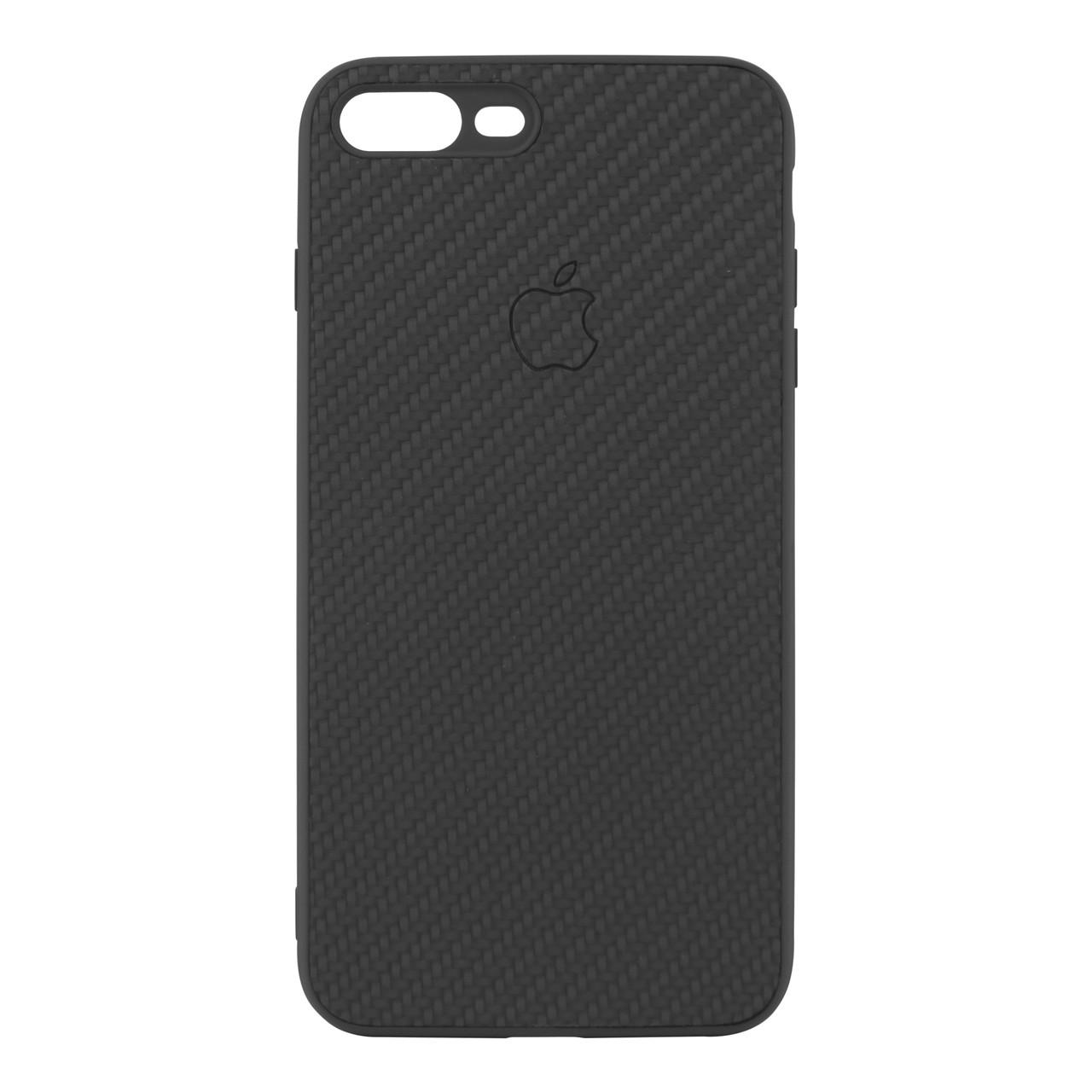 Чехол накладка Carbon для iPhone 8  Plus Black